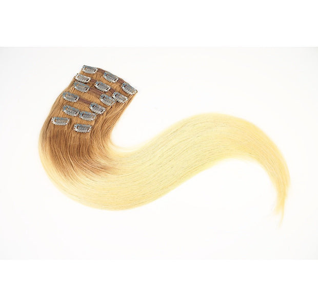 Hair Clips Color _6/14 GVA hair_Gold Line - GVA hair