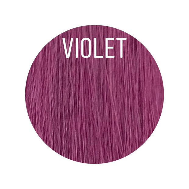 Hair Clips Color VIOLET GVA hair_Gold Line - GVA hair