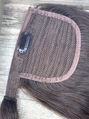 Hair Ponytail Color _4/DB3 GVA hair_Gold Line - GVA hair
