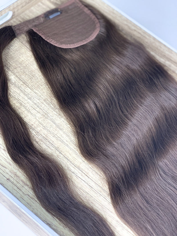 Hair Ponytail Color _6C/60C GVA hair_Silver Line - GVA hair