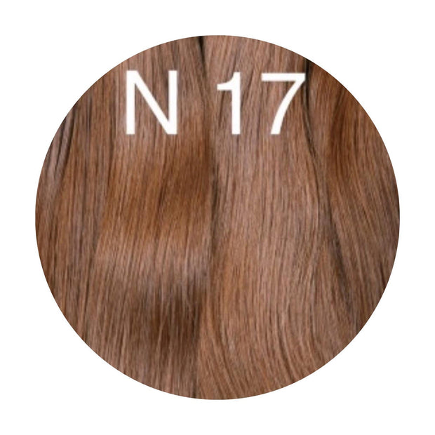 Hair Wefts Hand tied Color 17 GVA hair_Gold line - GVA hair