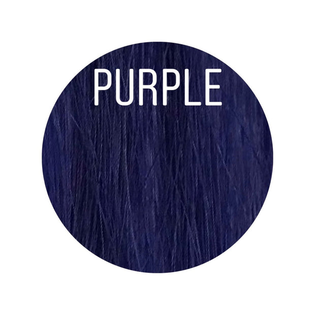 Hair Wefts Hand tied Color PURPLE GVA hair_Gold line - GVA hair