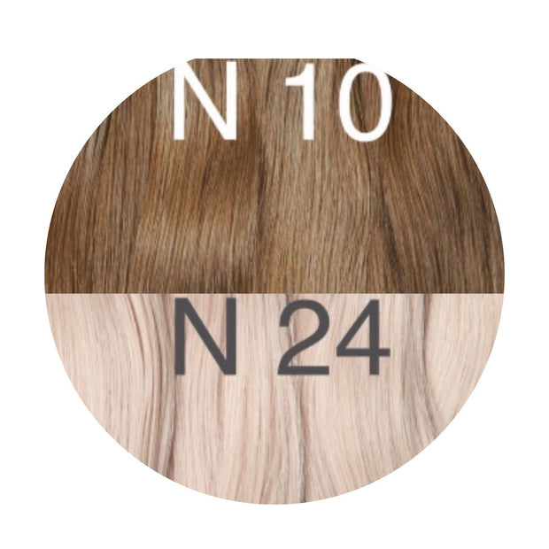 Hot Fusion ambre 10 and 24 Color GVA hair - GVA hair