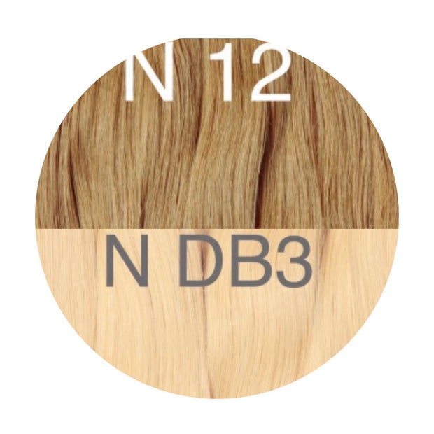 Hot Fusion Color _12/DB3 GVA hair_Gold Line - GVA hair