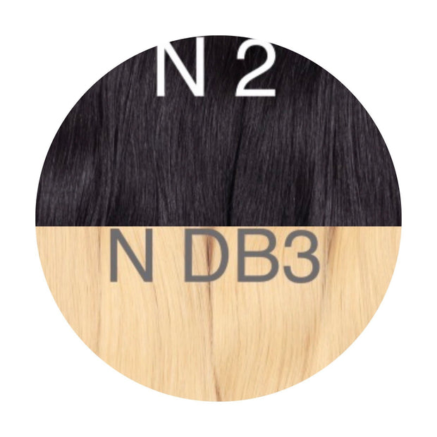 Hot Fusion Color _2/DB3 GVA hair_Gold Line - GVA hair