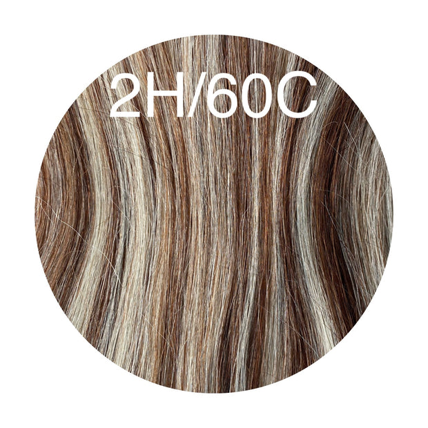 Hot Fusion Color _2H/60C GVA hair_Silver Line - GVA hair