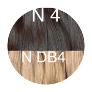 Hot Fusion Color _4/DB4 GVA hair_Gold Line - GVA hair