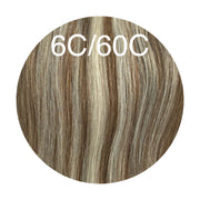 Hot Fusion Color _6C/60C GVA hair_Silver Line - GVA hair
