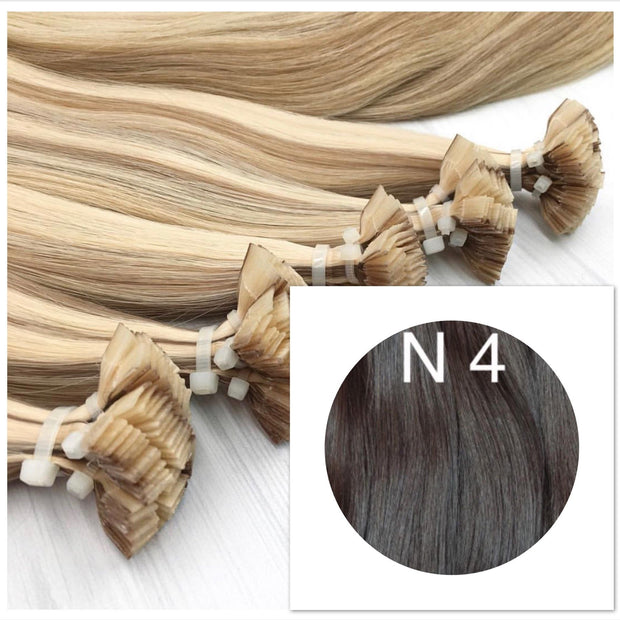 Hot Fusion Colors BLACK AND DARK BROWN_Retail price - GVA hair