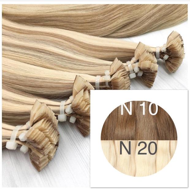 Hot Fusion ombre 10 and 20 Color GVA hair_Retail price - GVA hair