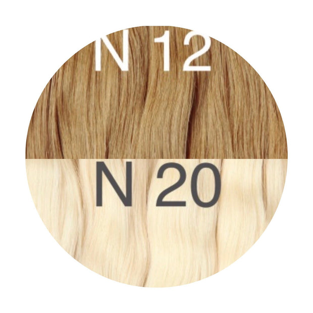 Hot Fusion ombre 12 and 20 Color GVA hair_Retail price - GVA hair