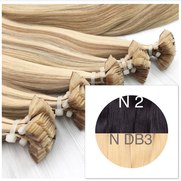 Hot Fusion ombre 2 and DB3 Color GVA hair_Retail price - GVA hair