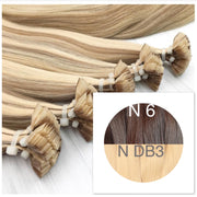 Hot Fusion ombre 6 and DB3 Color GVA hair_Retail price - GVA hair