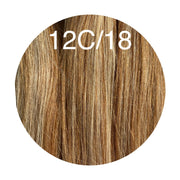 Micro links Color _12C/18 GVA hair_Silver Line - GVA hair