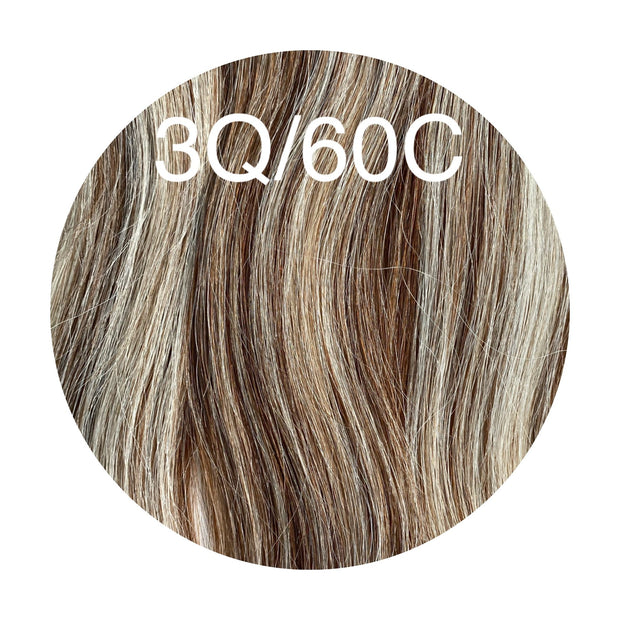 Micro links Color _3Q/60C GVA hair_Silver Line - GVA hair