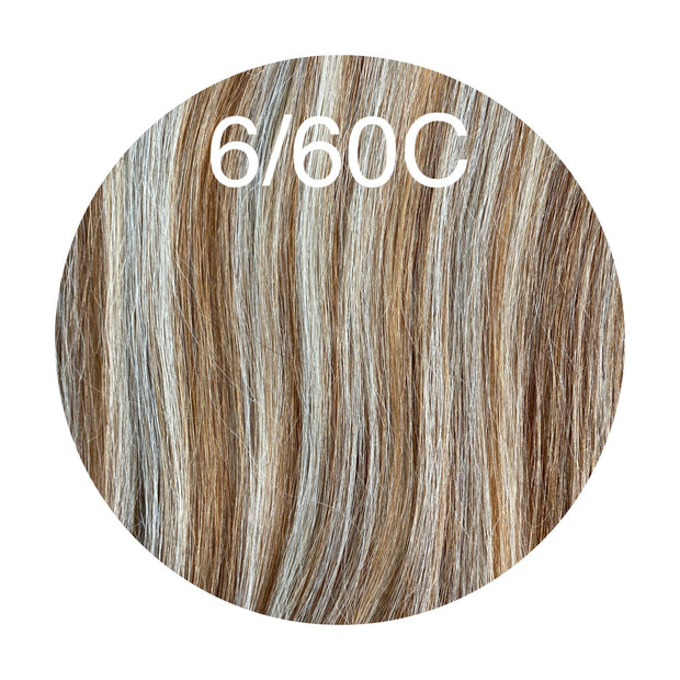 Micro links Color _6/60C GVA hair_Silver Line - GVA hair