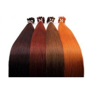 Micro links Color RED GVA hair_Gold Line - GVA hair