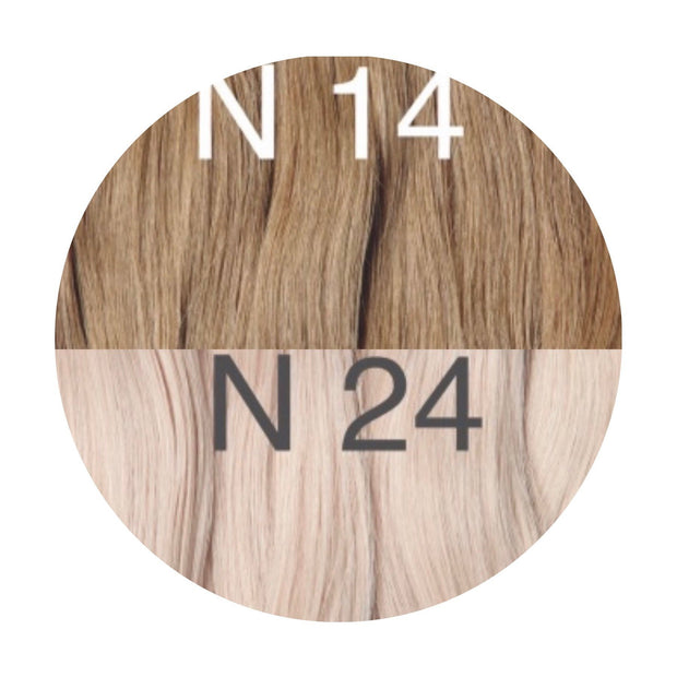 Micro links ombre 14 and 24 Color GVA hair_Retail price - GVA hair