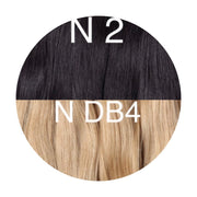 Micro links ombre 2 and DB4 Color GVA hair_Retail price - GVA hair