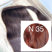 Ponytail Colors RED BROWN_Retail price - GVA hair