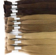 Raw cut hair Ambre 12 and DB2 Color GVA hair - GVA hair