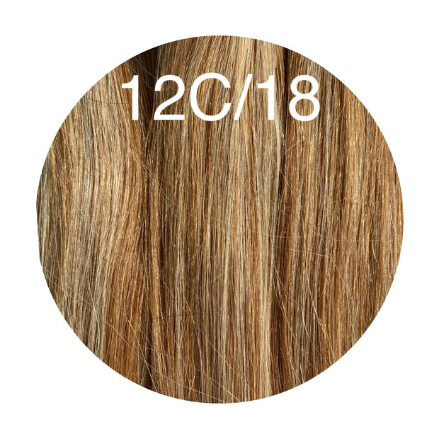 Raw Cut Hair Color _12C/18 GVA hair_Silver line - GVA hair