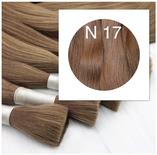 Raw cut hair Color 17 GVA hair_Retail price - GVA hair