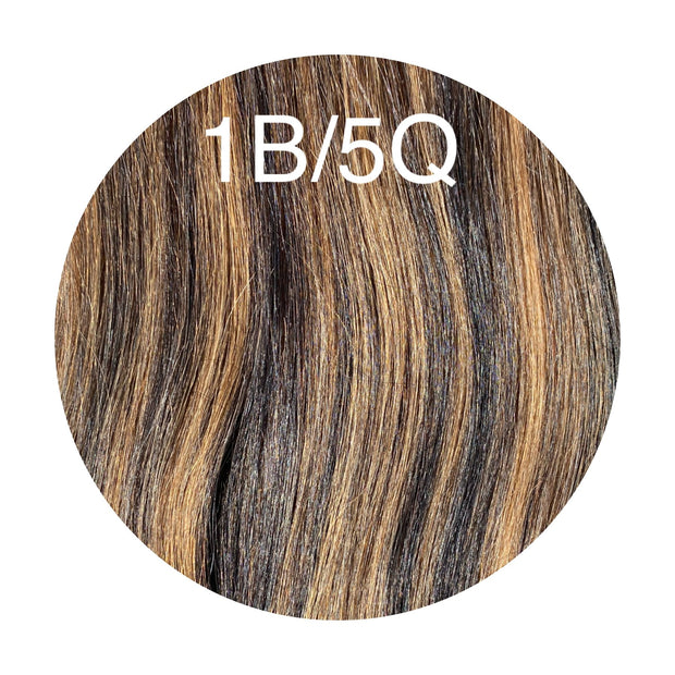 Raw Cut Hair Color _1B/5Q GVA hair_Silver line - GVA hair