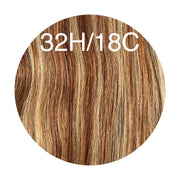 Raw Cut Hair Color _32H/18C GVA hair_Silver line - GVA hair