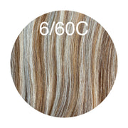 Raw Cut Hair Color _6/60C GVA hair_Silver line - GVA hair