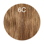 Raw Cut Hair Color 6C GVA hair_Silver line - GVA hair