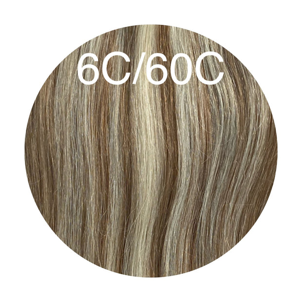 Raw Cut Hair Color _6C/60C GVA hair_Silver line - GVA hair