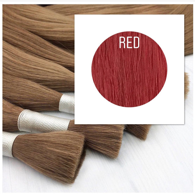 Raw cut hair Color Red GVA hair - GVA hair