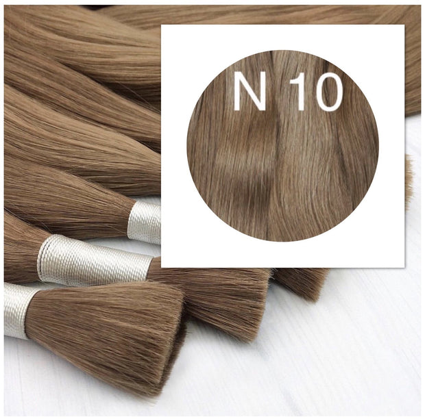 Raw Cut hair Colors LIGHT BROWN 100 grams - GVA hair