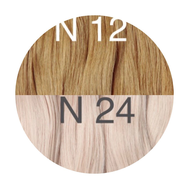 Tapes ambre Color 12 and 24 GVA hair - GVA hair