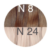 Tapes ambre Color 8 and 24 GVA hair - GVA hair