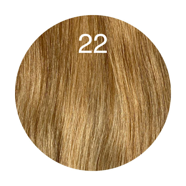 Tapes Color 22 GVA hair_Silver Line - GVA hair