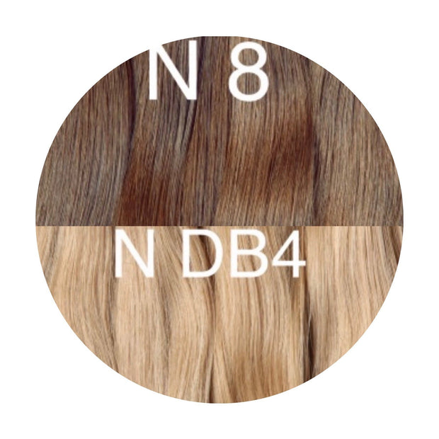 Tapes Color _8/DB4 GVA hair_Gold Line - GVA hair