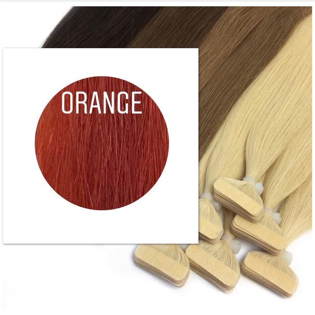 Tapes Color Orange GVA hair_Retail price - GVA hair