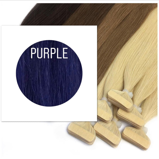 Tapes Color Purple GVA hair_Retail price - GVA hair