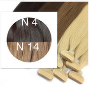 Tapes ombre Color 4 and 14 GVA hair_Retail price - GVA hair
