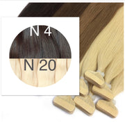 Tapes ombre Color 4 and 20 GVA hair_Retail price - GVA hair