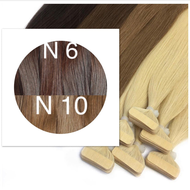 Tapes ombre Color 6 and 10 GVA hair_Retail price - GVA hair