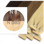 Tapes ombre Color 8 and DB3 GVA hair_Retail price - GVA hair