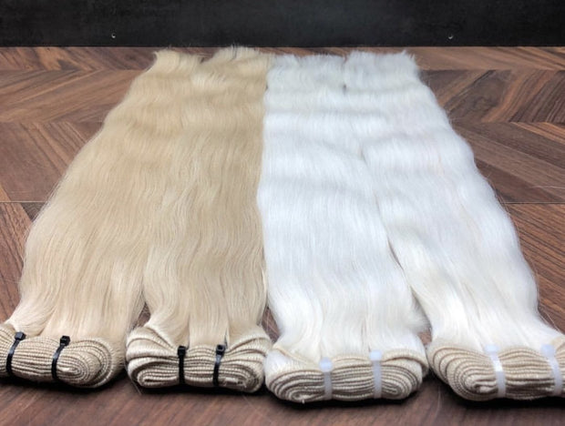 Wefts ambre 4 and 14 Color GVA hair - GVA hair