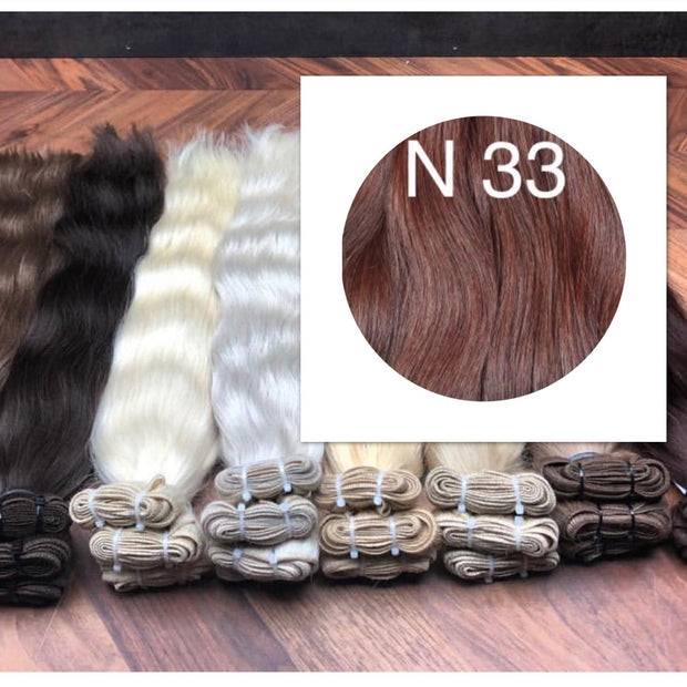 Wefts Color 33 GVA hair - GVA hair