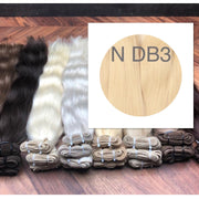 Wefts Color DB3 GVA hair - GVA hair