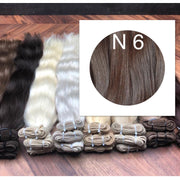 Wefts Colors BLACK AND DARK BROWN GVA hair_Retail price - GVA hair