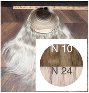 Wigs Ambre 10 and 24 Color GVA hair - GVA hair