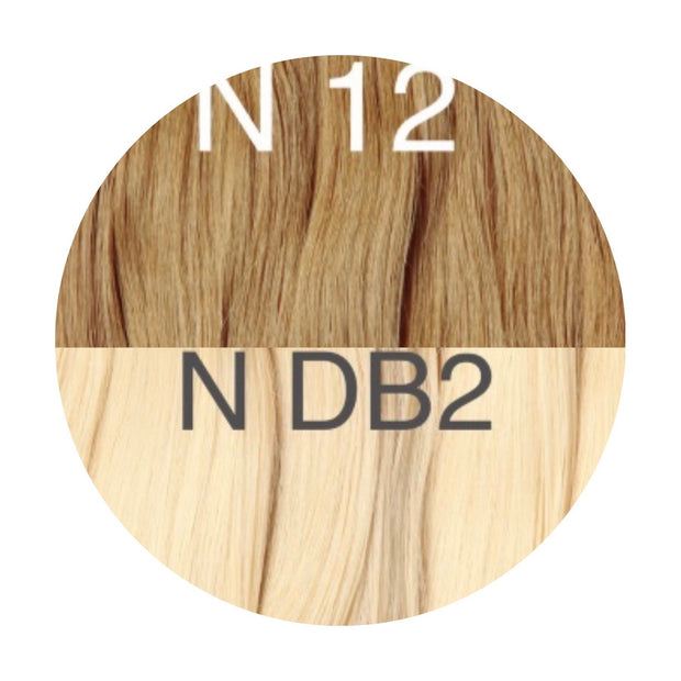 Wigs Ambre 12 and DB2 Color GVA hair - GVA hair